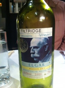 Elgar Medium Dry Wine Tiltridge Vineyard