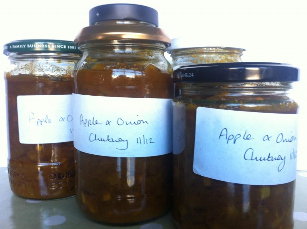 Making Homemade Chutney