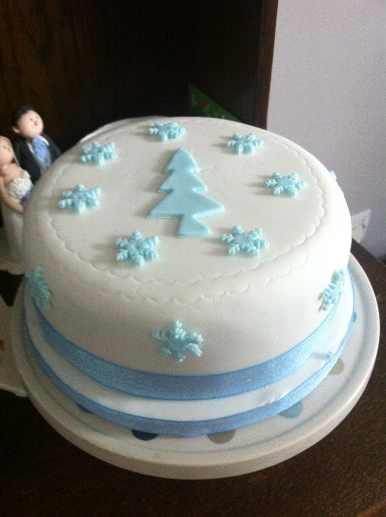 Christmas Tree Christmas Cake