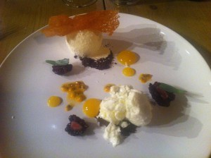 Coconut with Passion Fruit, Blackberry, Yoghurt and Lime Claire Hutchings