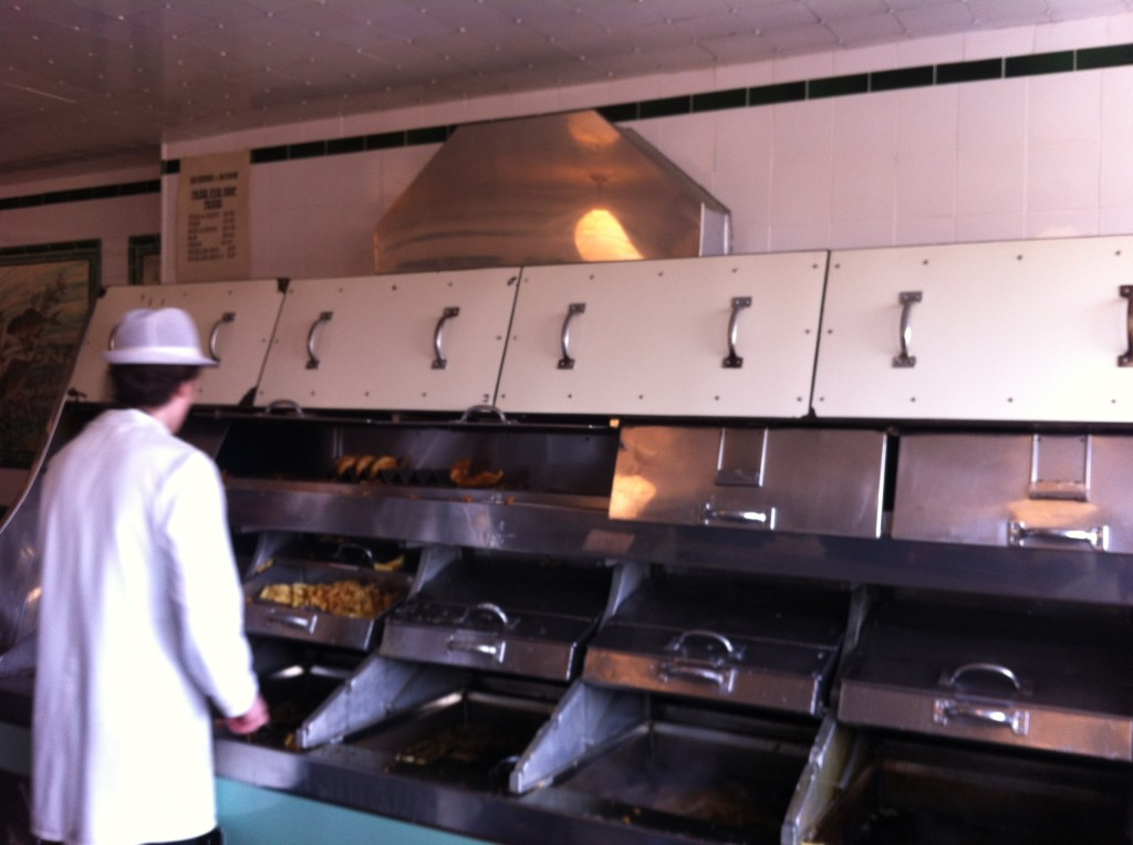 old fashioned fish and chip shop