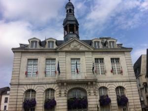town hall Auray