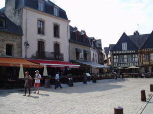 old streets of Auray