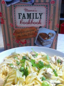 Creamy Chicken Penne from Mama's Family Cookbook