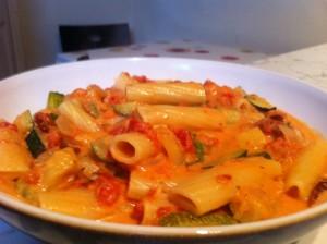 Rigatoni ai Zucchini