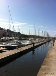marina at Vannes