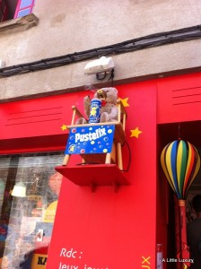 toy shop in Vannes