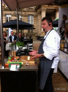 Morrisons cookery demonstration