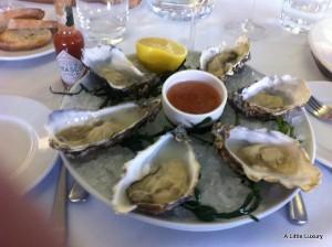 oysters at bank restaurant birmingham