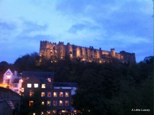 Durham Castle by night