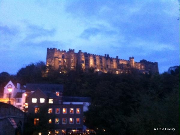 Durham Castle by night