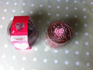 Tesco Valentine's Sweetheart Cupcake