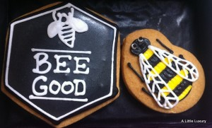 Bee Good cookies