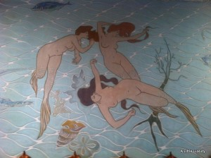 mermaids at Hotel España