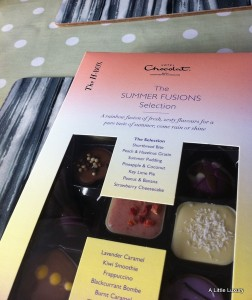 zingy summer chocolates Summer Fusions from Hotel Chocolat