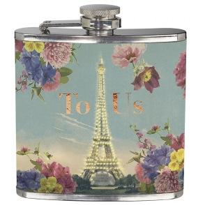 Eiffel Tower Hip Flask for Christmas