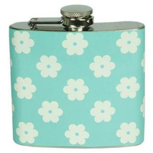 Floral Stainless Steel Flask