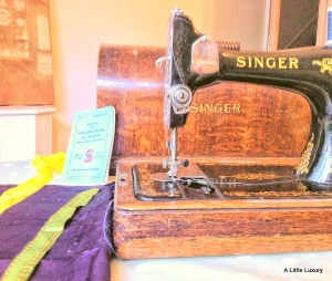 Singer Sewing Machine hand operated