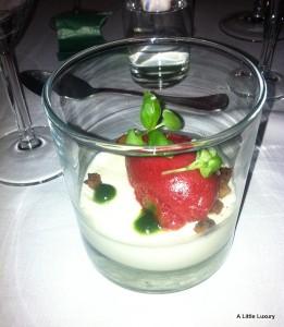 sorbet dessert
