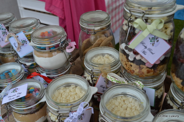 sweets farmers market stall