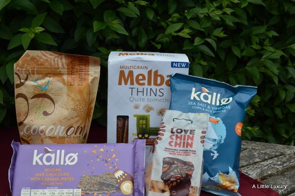 snacks from Degustabox