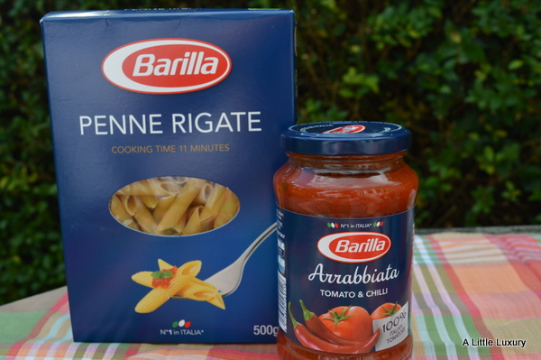 Penne Rigate and Arrabbiata Sauce