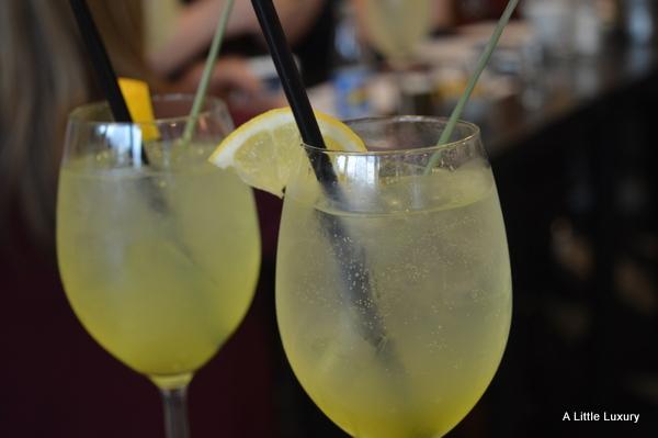 cocktail gin limoncello