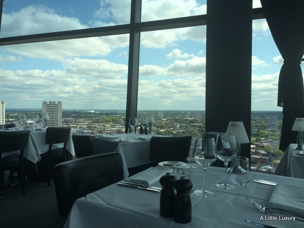 view from Marco Pierre White Steakhouse Bar & Grill Birmingham