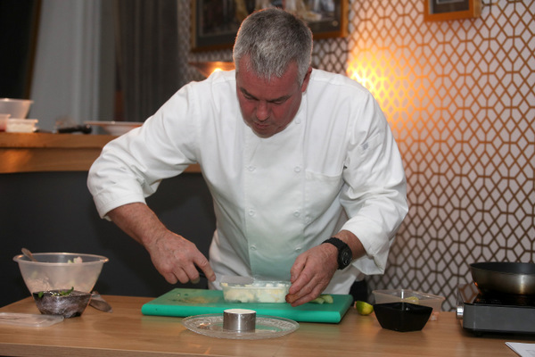 private chef demonstration