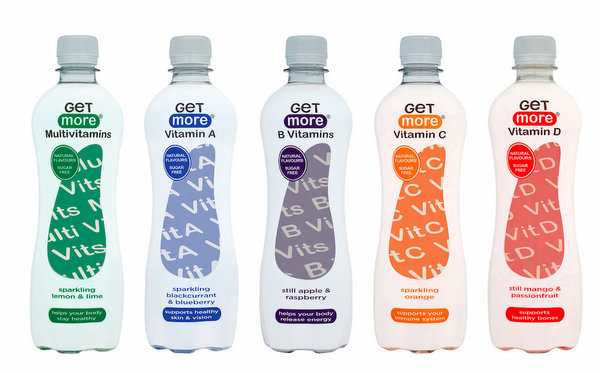 vitamin water bottles