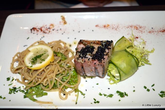 tuna with spaghetti