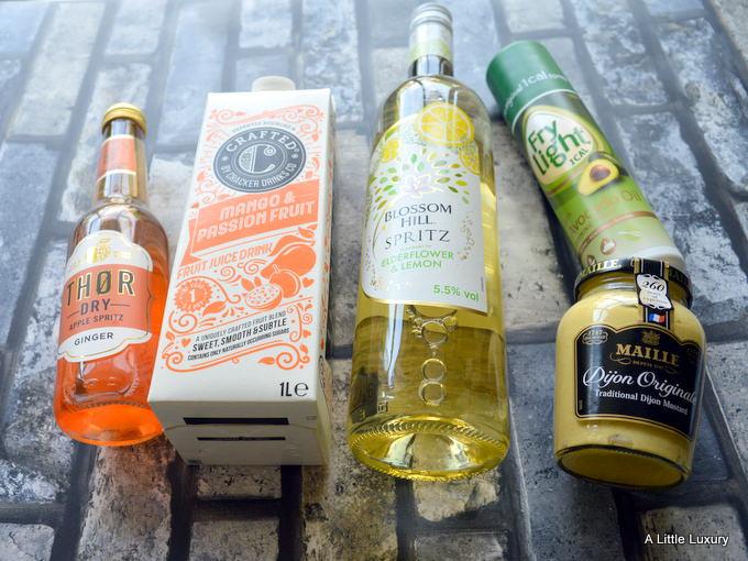 bottles from summer degustabox