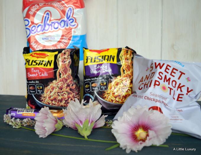seabrook crisps  maggi noodles