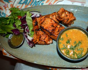 salmon indian dish