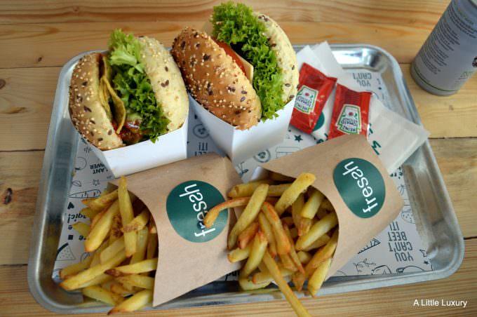 vegan burgers fressh birmingham