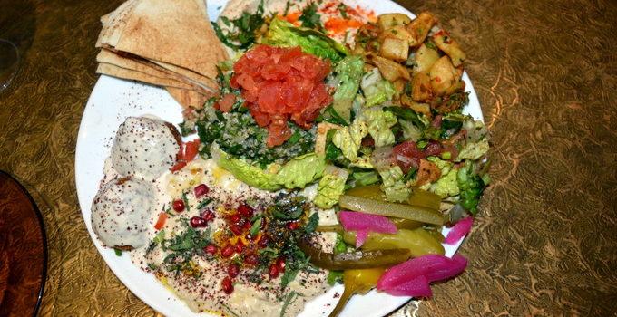 Celebrating Veganuary With Comptoir Libanais