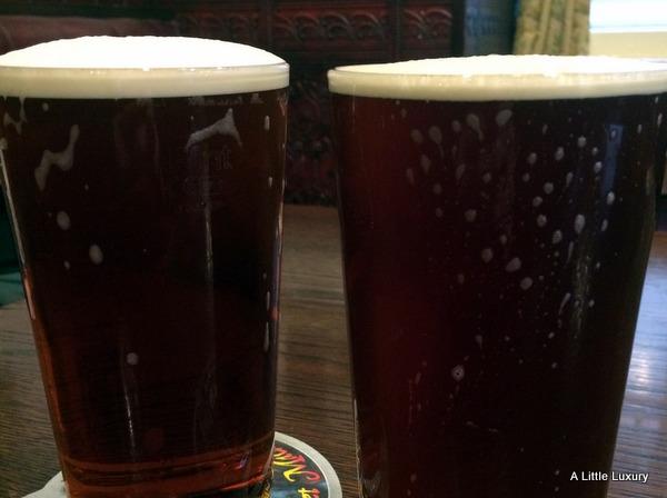 pints beer bitter