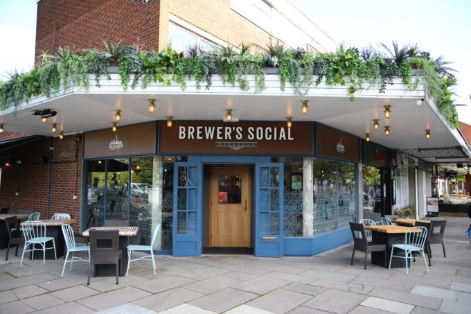 Brewers social harborne