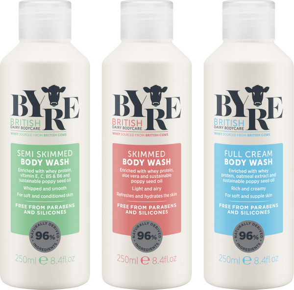 Win A Set Of Byre Body Washes