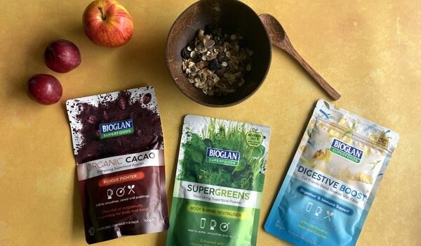 Bioglan Superfoods Review and Giveaway #Ad