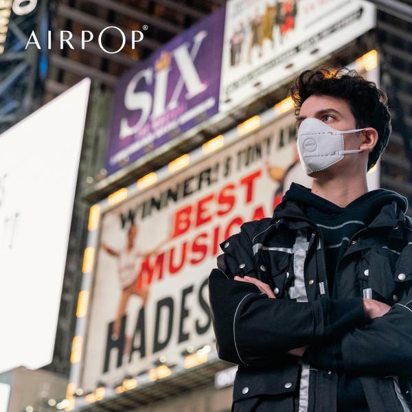 airpop pocket mask white
