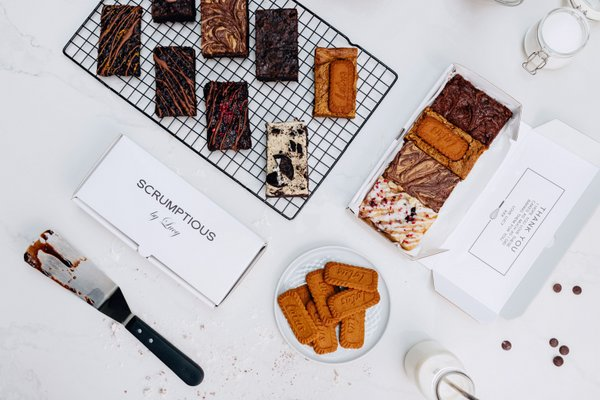 Scrumptious by Lucy brownies