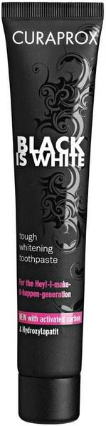 Black Is White toothpaste