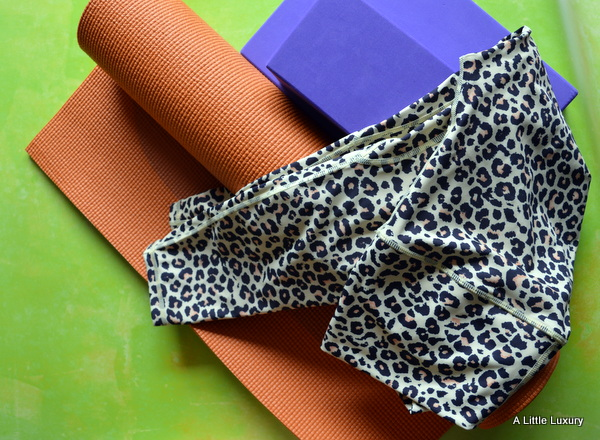 Leopard High Rise Roll Down Leggings by Halo Fitness