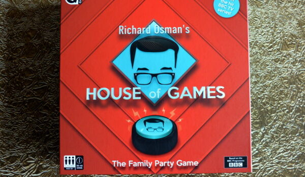 House of Games Board Game Review and Giveaway  #Ad