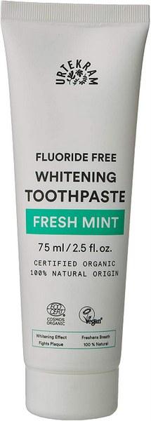 Urtekram's Fresh Mint Whitening Toothpaste